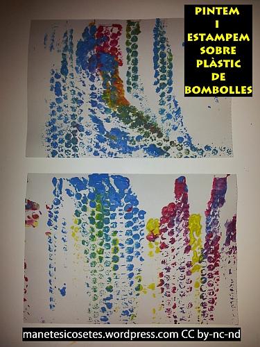pintem sobre plàstic de bombolles 01