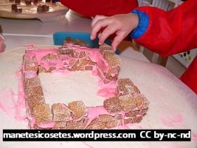 pixel art i construccions amb terrossos de sucre 06