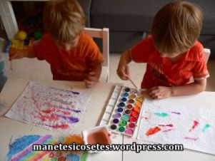pintar paper efervescent DIY amb aquarel.les 06